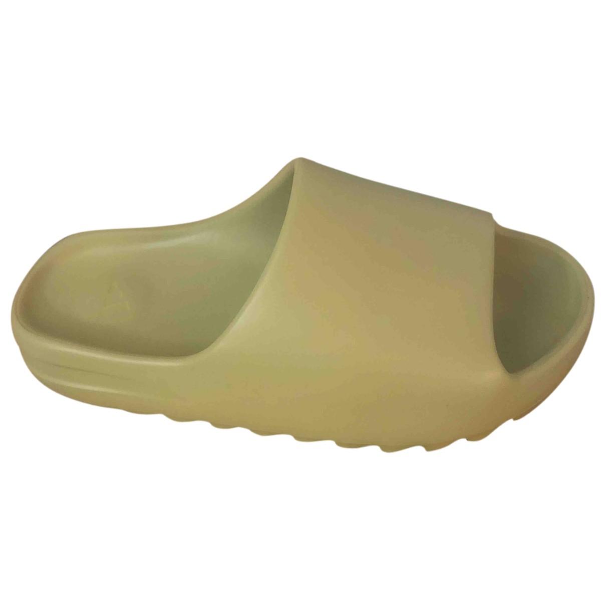 Yeezy X Adidas - Sandales   pour homme en caoutchouc - camel