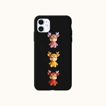 Christmas Cute Deer iPhone Case