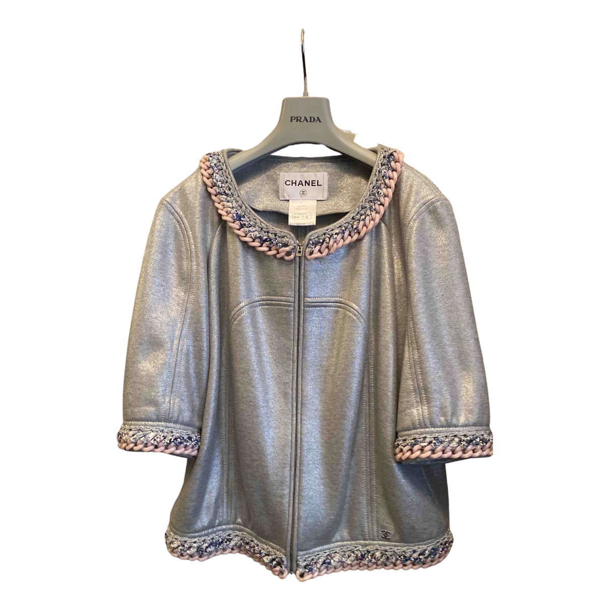Chanel \N Metallic Cotton jacket for Women 38 FR