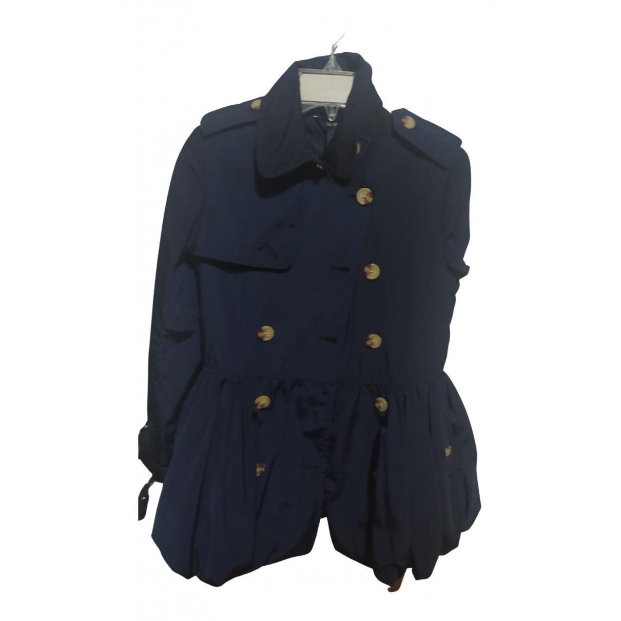 Ralph Lauren \N Jacke, Maentel in  Blau Polyester