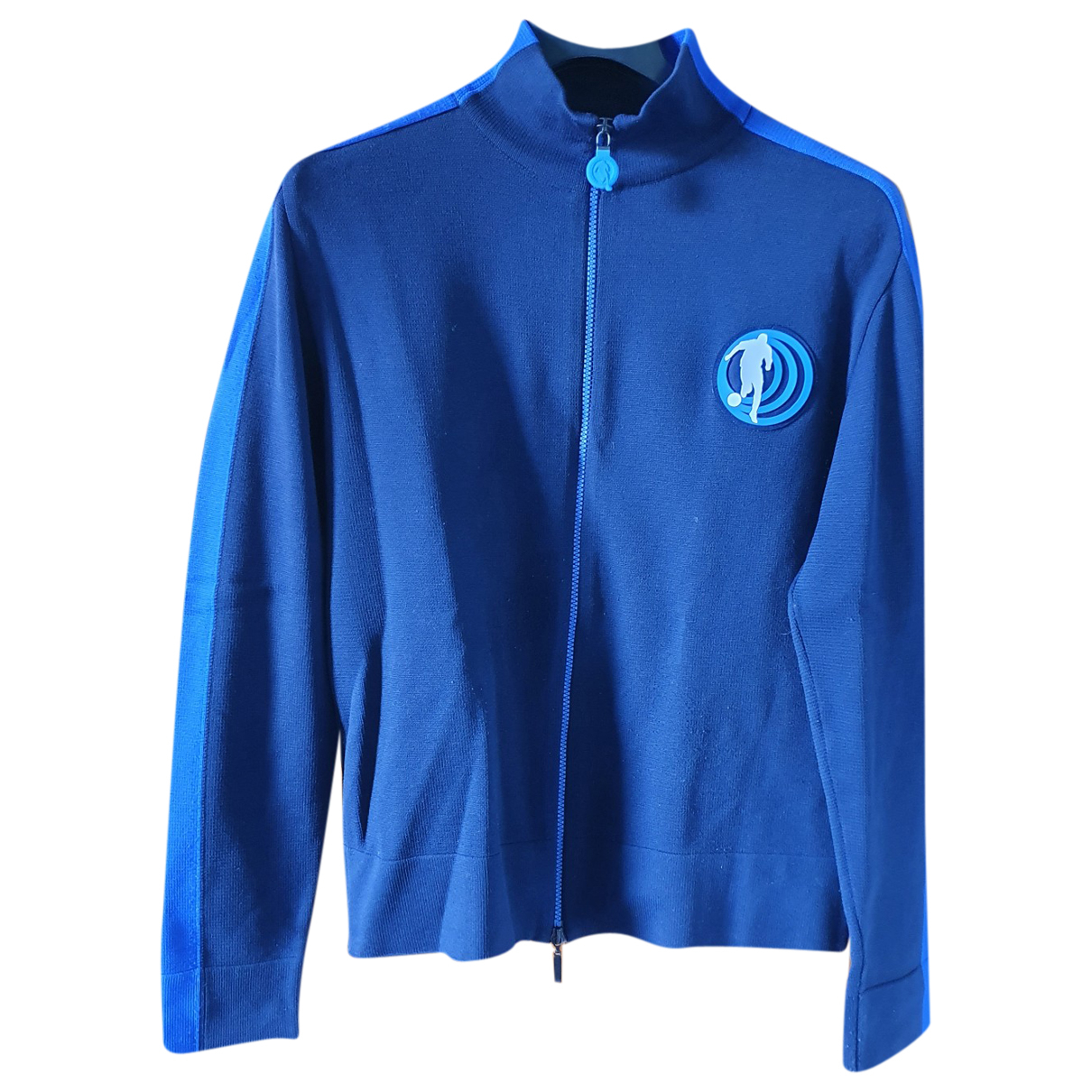 Dirk Bikkembergs \N Pullover.Westen.Sweatshirts  Blau