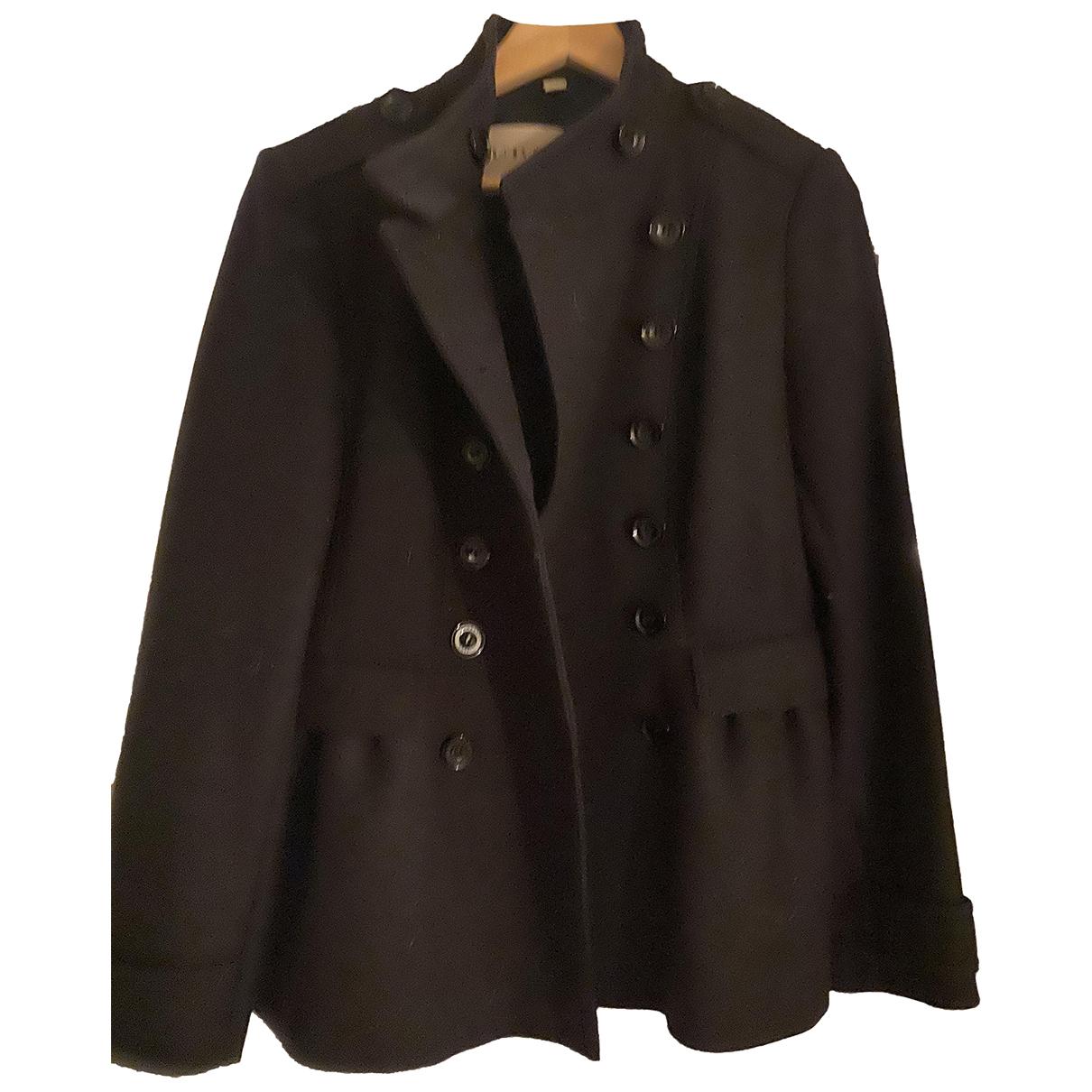 Burberry N Navy Wool coat for Women 8 US