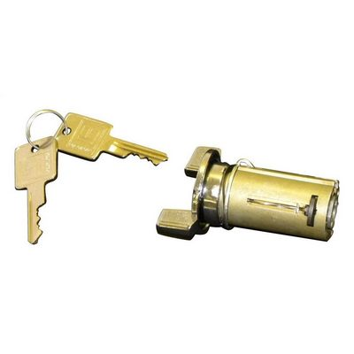 Crown Automotive Ignition Lock Cylinder and Key (Steel/Plastic) - 8120081K