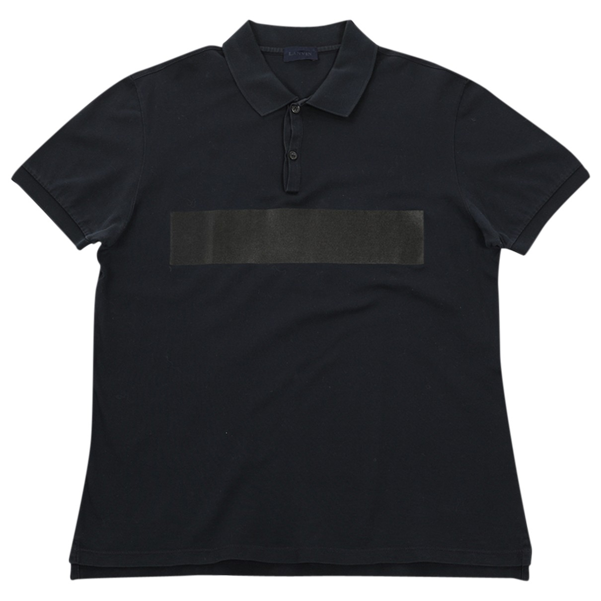 Lanvin - Polos   pour homme en coton - marine