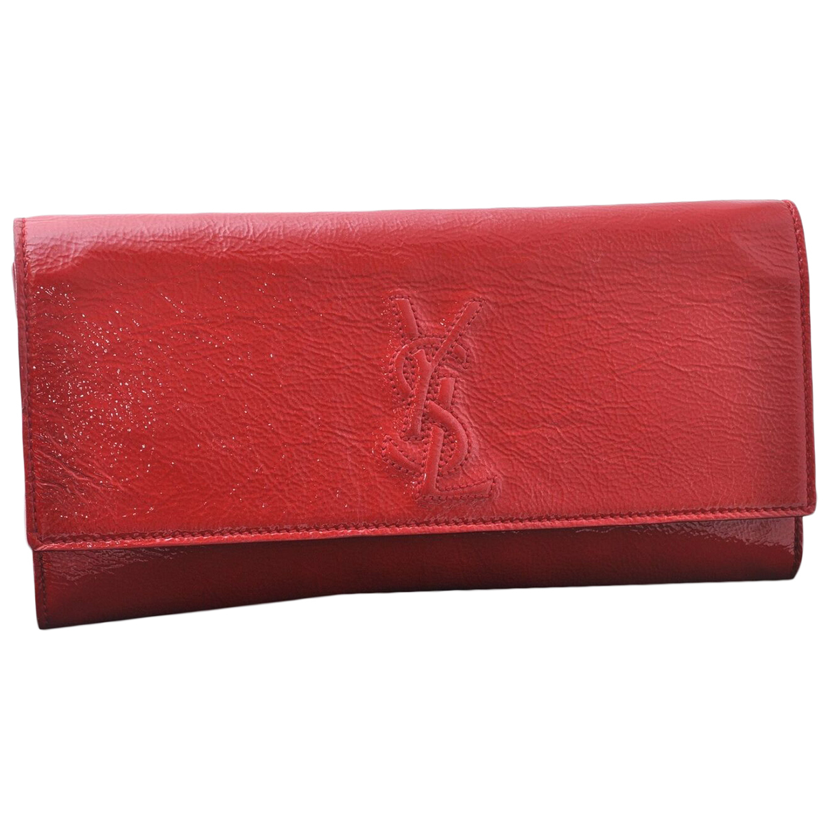 Yves Saint Laurent N Red Patent leather Clutch bag for Women N