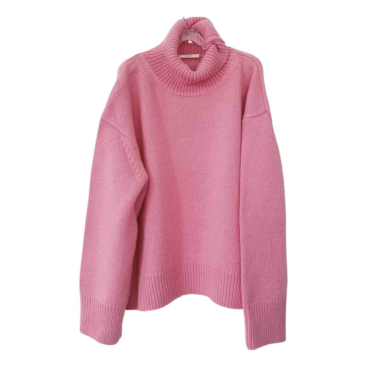 Celine \N Pink Cashmere Knitwear for Women M International