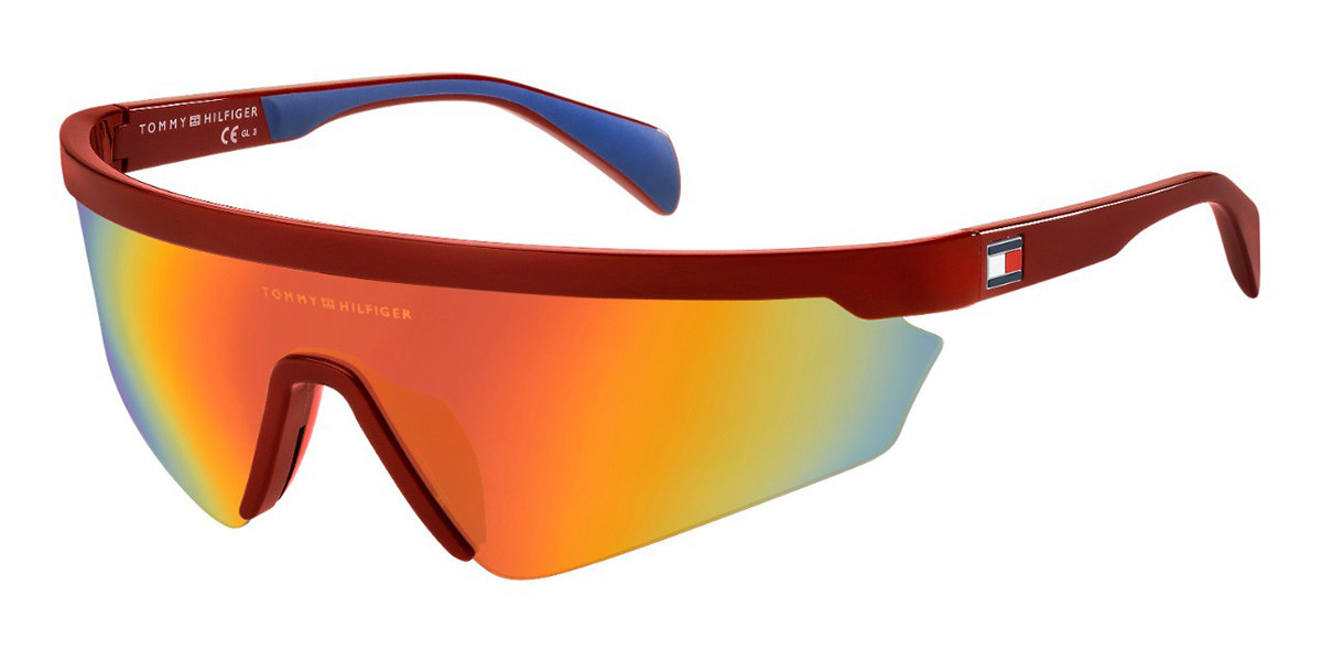 Tommy Hilfiger TH 1666/S C9A/UW Mens Sunglasses Red Size 99