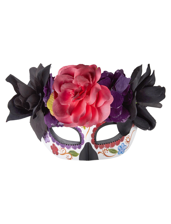 Kostuemzubehor Maske Dia de los Muertos lila