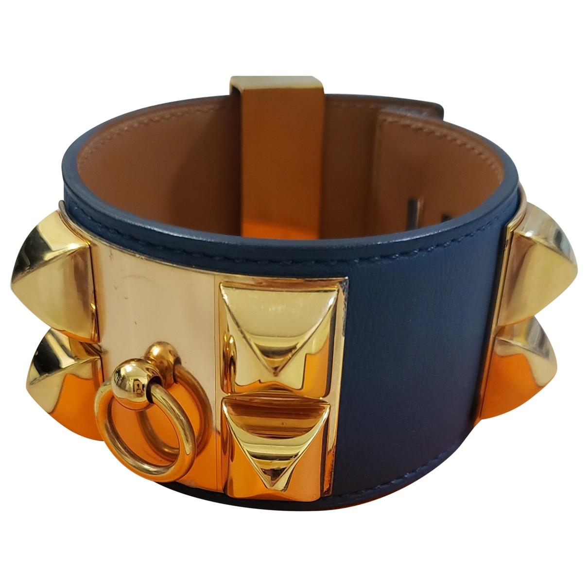 Hermes - Bracelet Collier de chien  pour femme en cuir