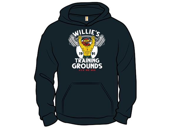 Willie's Training Grounds Pullover Hoodie