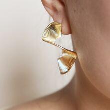 Ohrringe mit texturiertem Dekor