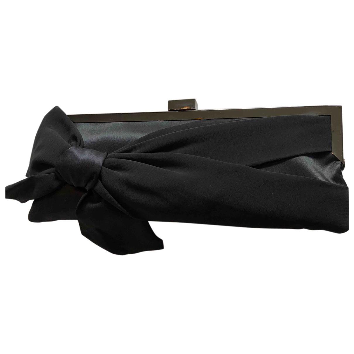 Autre Marque - Pochette   pour femme en paille - noir
