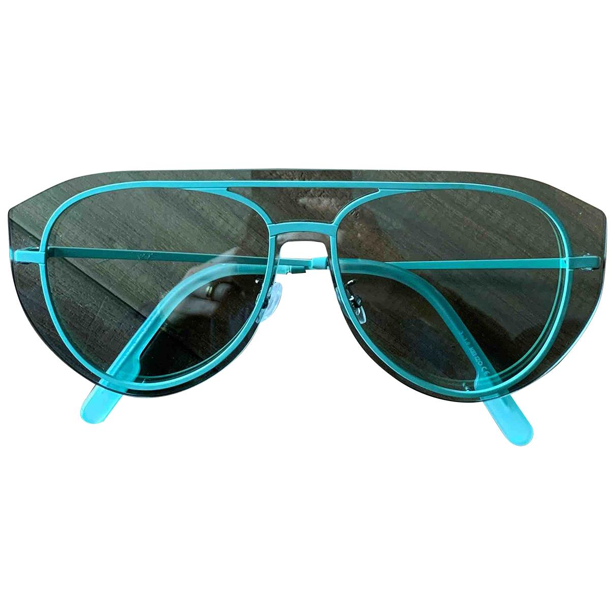 Kenzo \N Turquoise Metal Sunglasses for Women \N