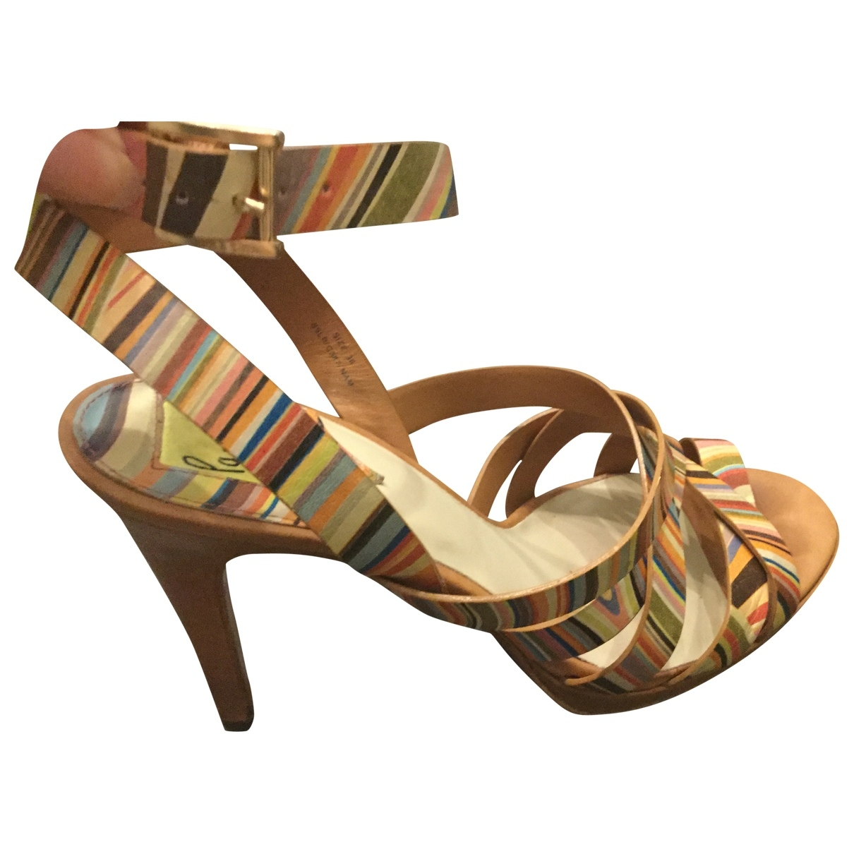 Sandalias de Cuero Paul Smith
