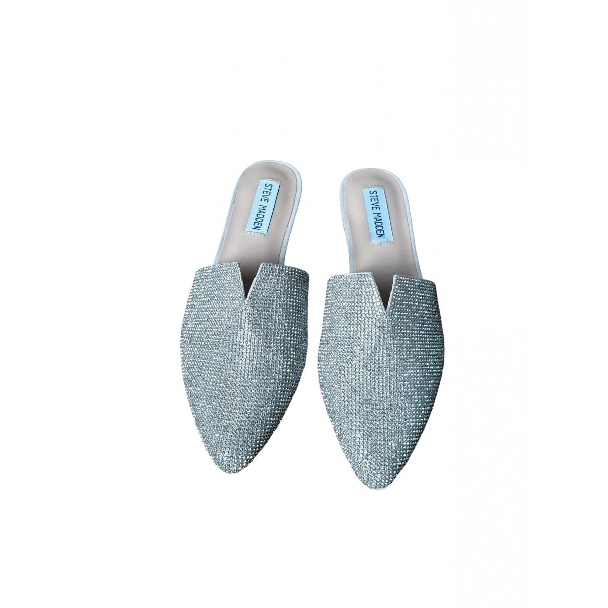 Steve Madden \N Beige Leather Flats for Women 7 US