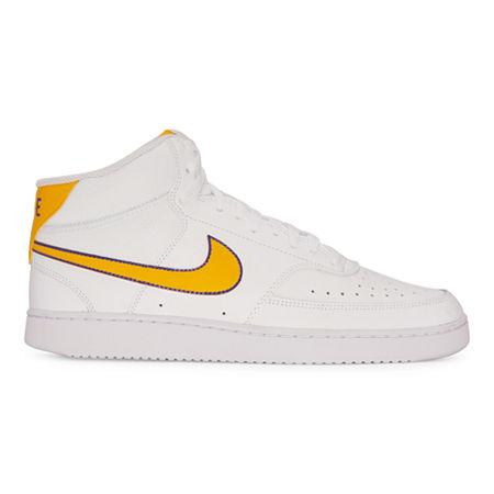 Nike Court Vision Lo Mens Basketball Shoes, 13 Medium, White