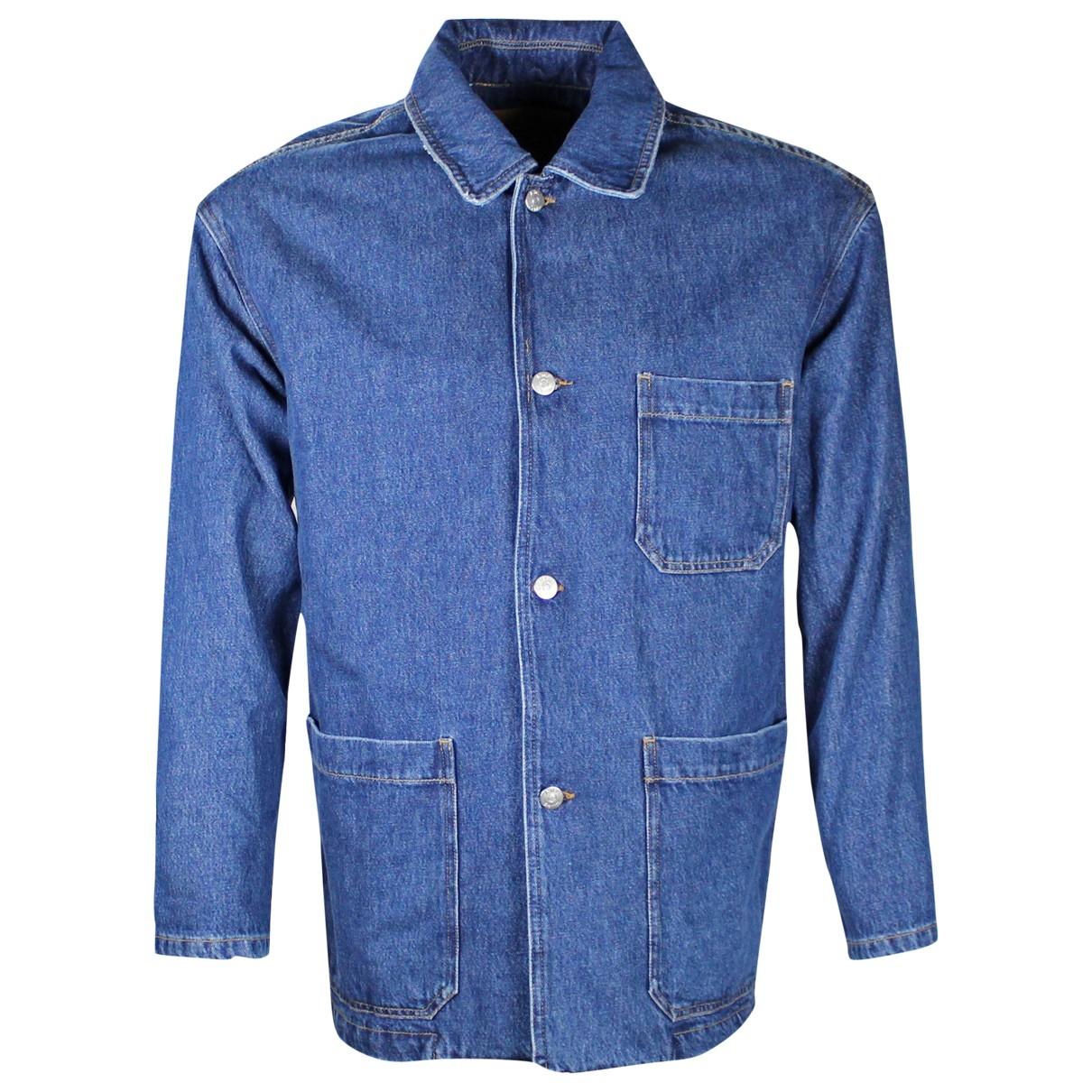 American Vintage \N Jacke in  Blau Denim - Jeans