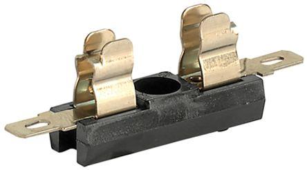 Schurter 10A PCB Mount Fuse Holder for 5 x 20mm Cartridge Fuse, 600V ac (50)