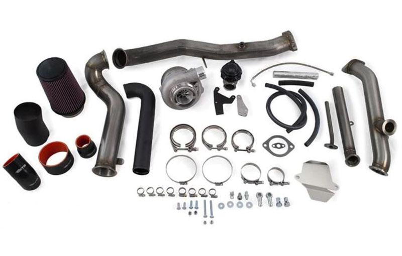 ETS 04-07 Subaru STI 3-bolt Rotated Turbo Kit Rotated Turbo Kit Stock MAF 3-bolt PT6062 BB