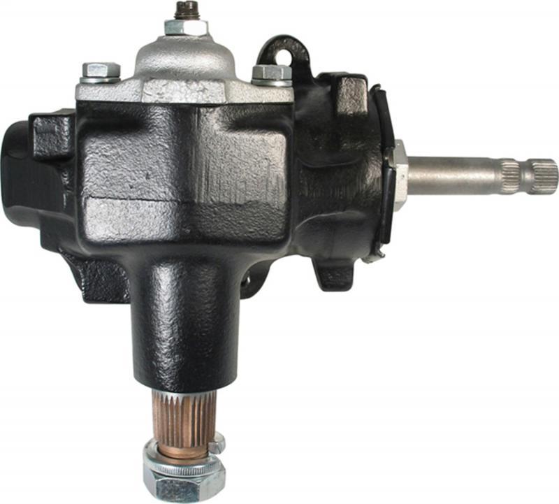 Borgeson 920009 Steering Box; Manual; OEM Saginaw 525; Reversed; 3/4-30 Input; New