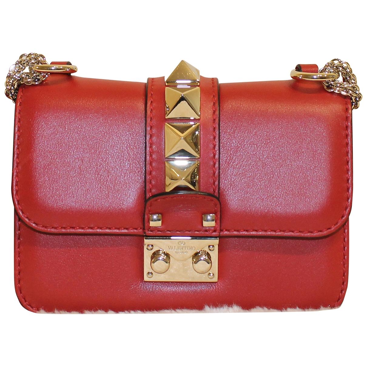 Pochette Glam Lock de Cuero Valentino Garavani