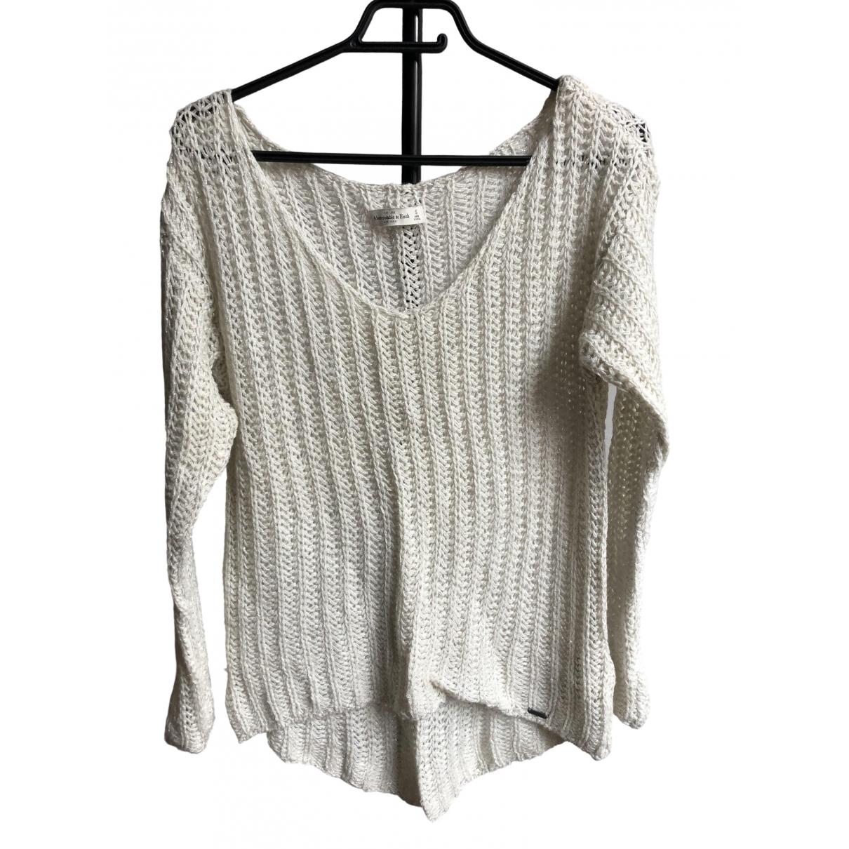 Abercrombie & Fitch - Pull   pour femme en laine - beige