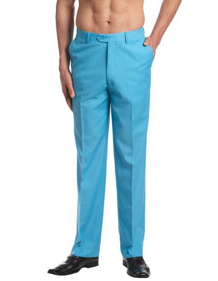 mens turquoise dress pants