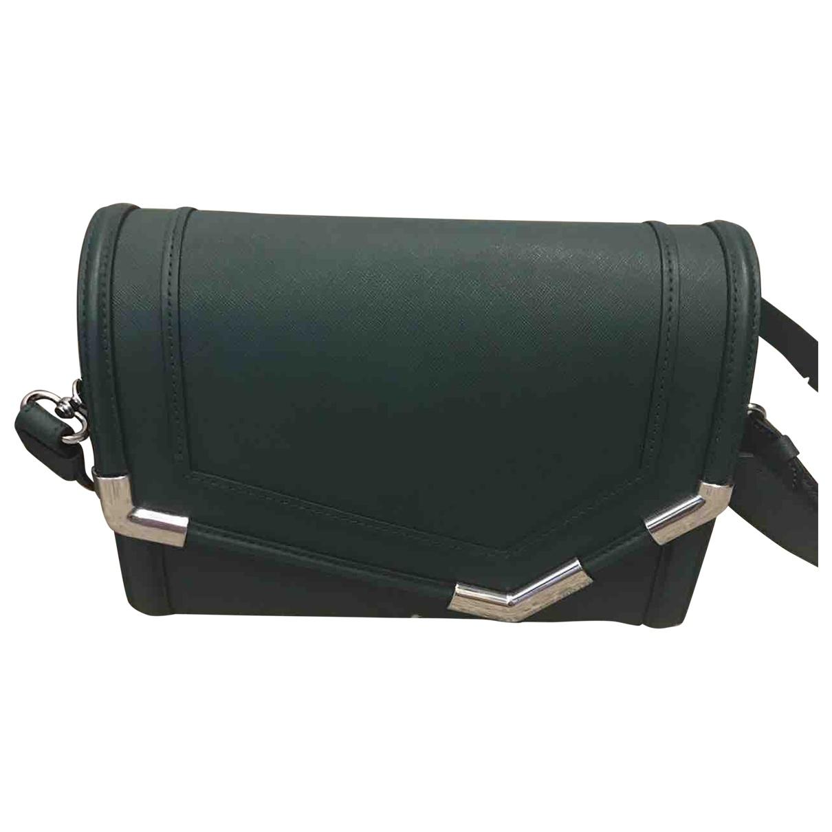 Karl Lagerfeld \N Green Leather handbag for Women \N
