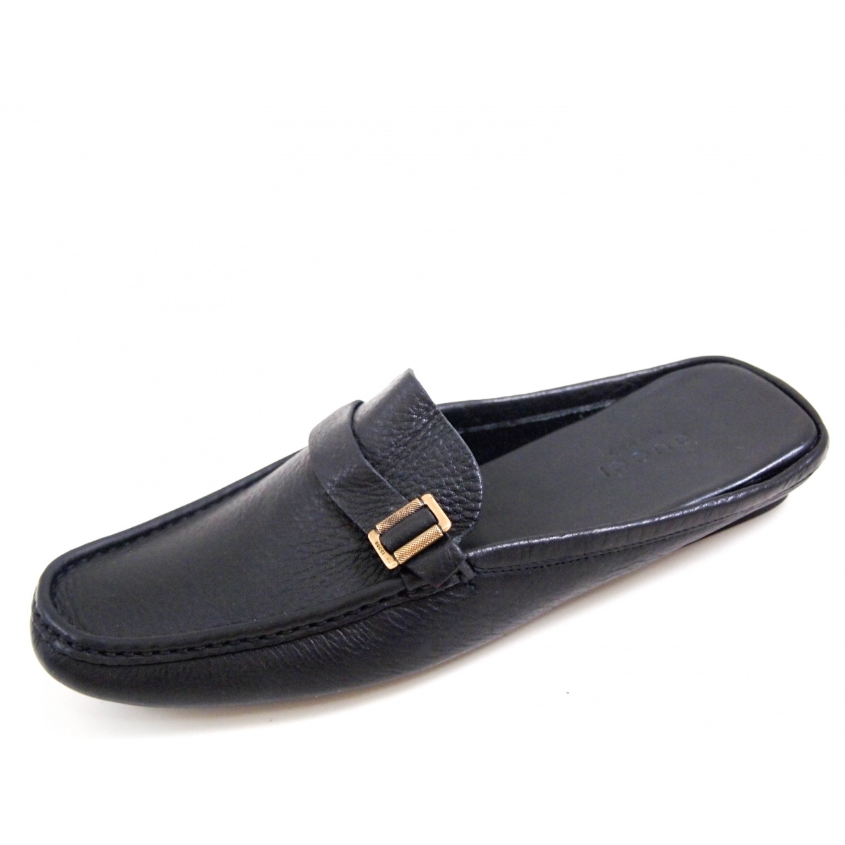 Gucci \N Black Leather Mules & Clogs for Women 35 EU