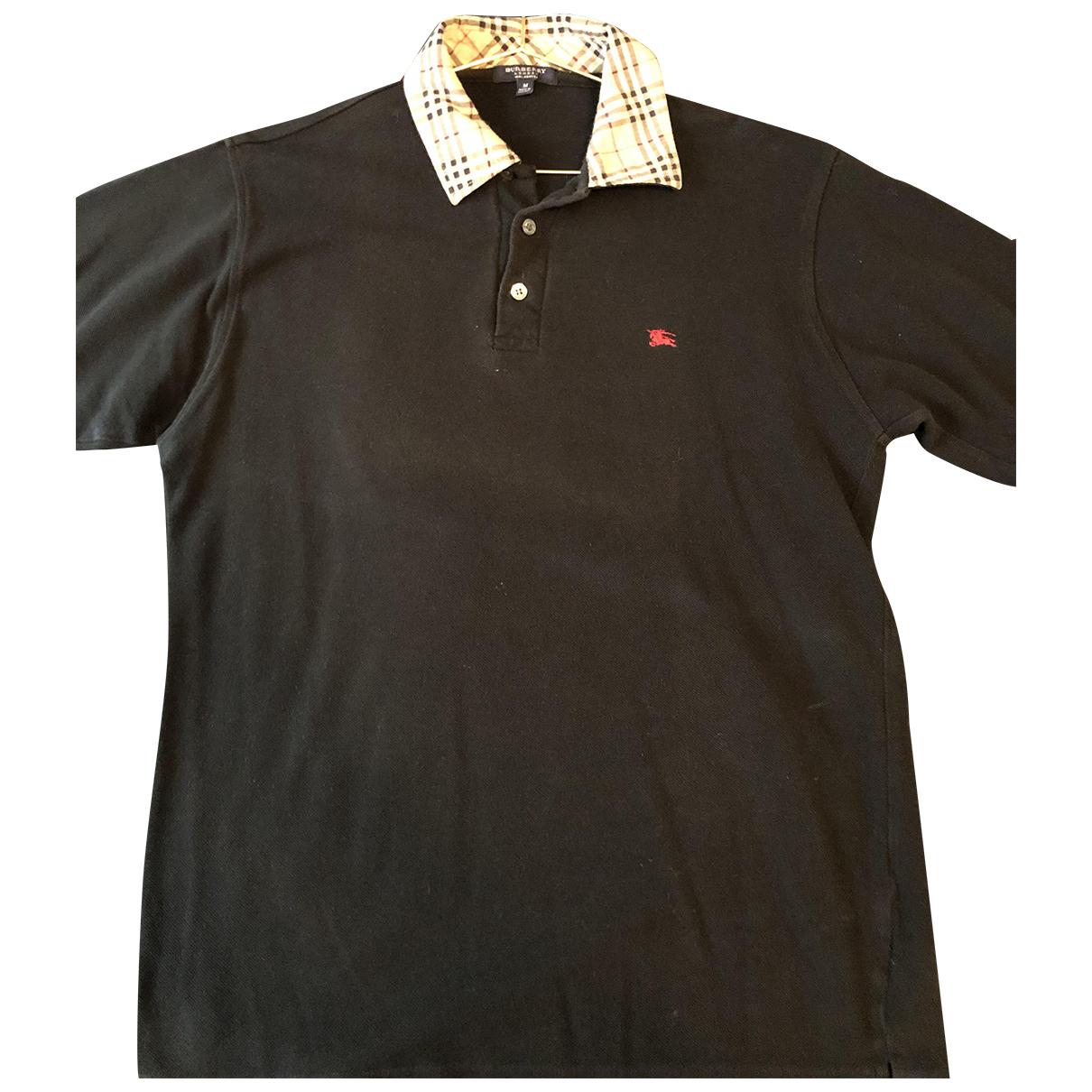 Burberry \N Poloshirts in  Schwarz Baumwolle