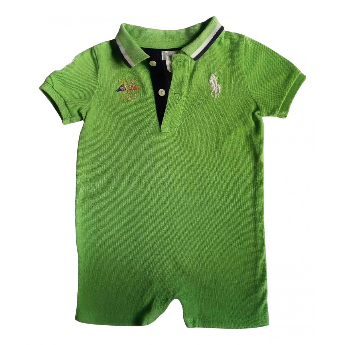 Camisetas en Algodon Verde Ralph Lauren