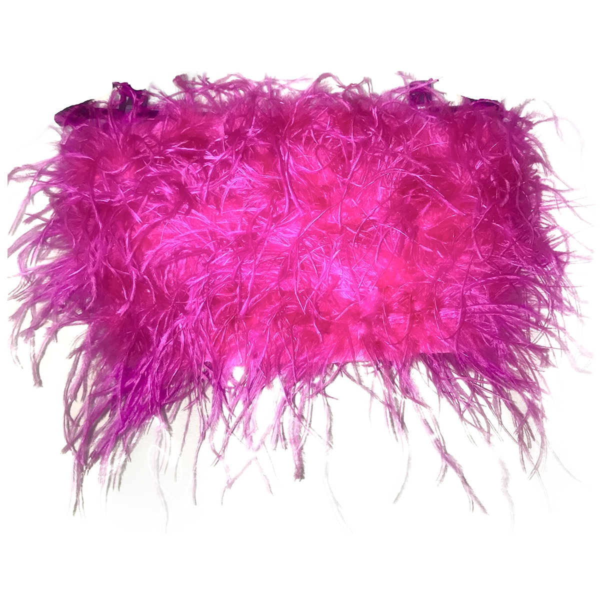 Non Signé / Unsigned \N Pink Fur  top for Women S International