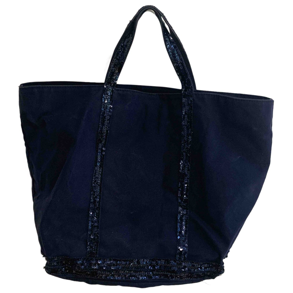 Vanessa Bruno Cabas Blue Cotton handbag for Women N