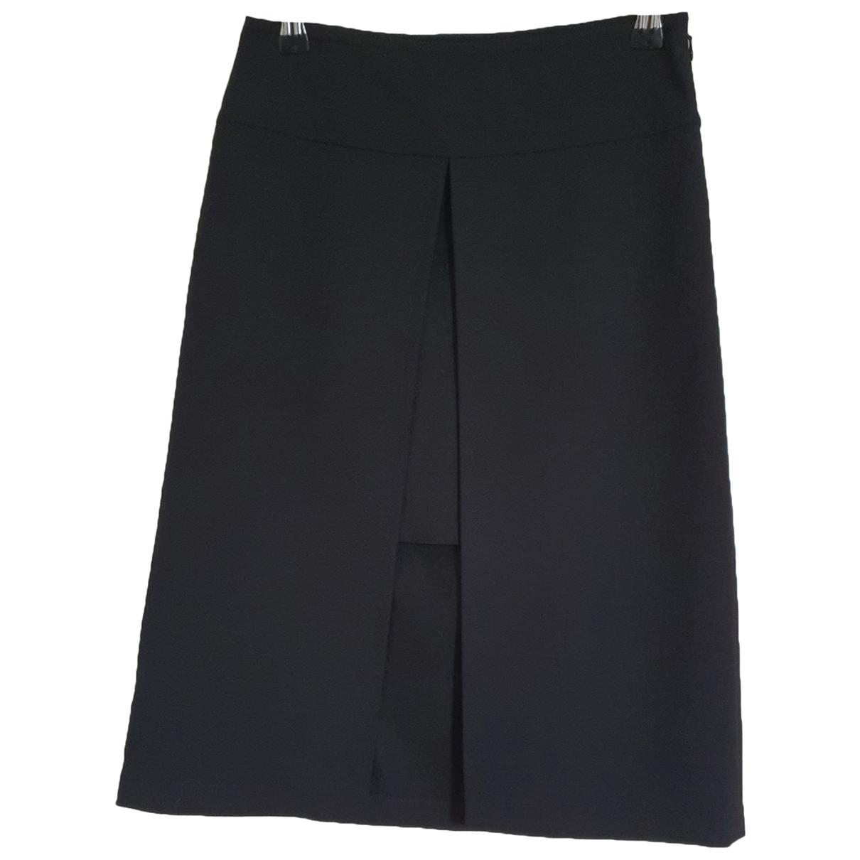 Patrizia Pepe N Black Wool skirt for Women 38 FR