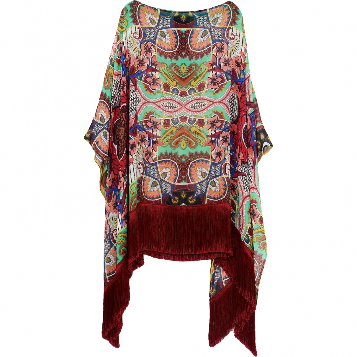 Etro \N Multicolour Silk  top for Women One Size International