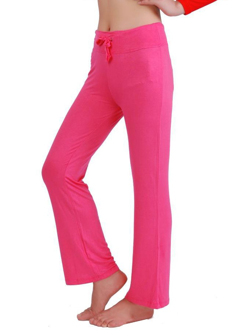 Ericdress Cotton Breathable Patchwork Solid Female Yoga Pants