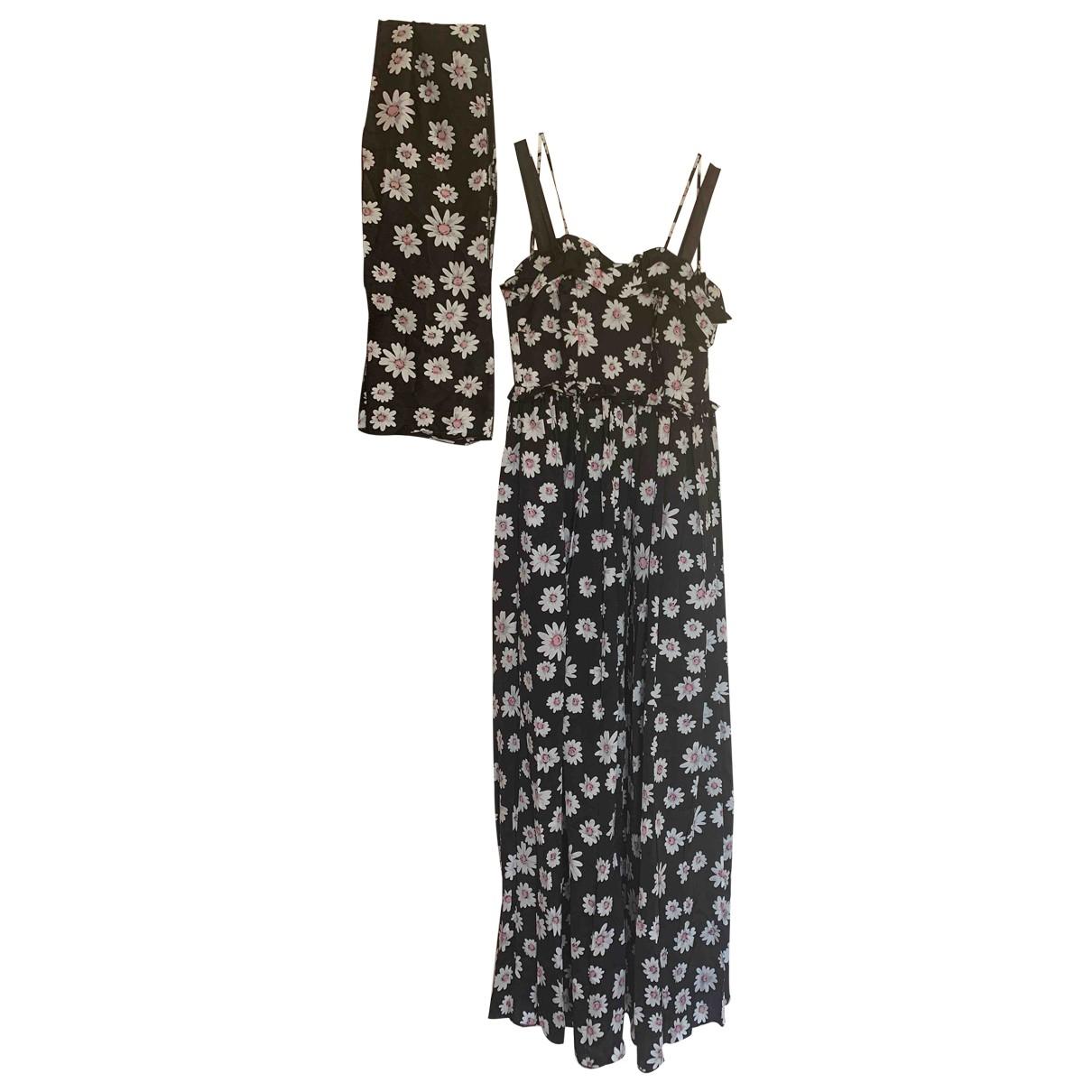 Balenciaga \N Kleid in  Bunt Seide