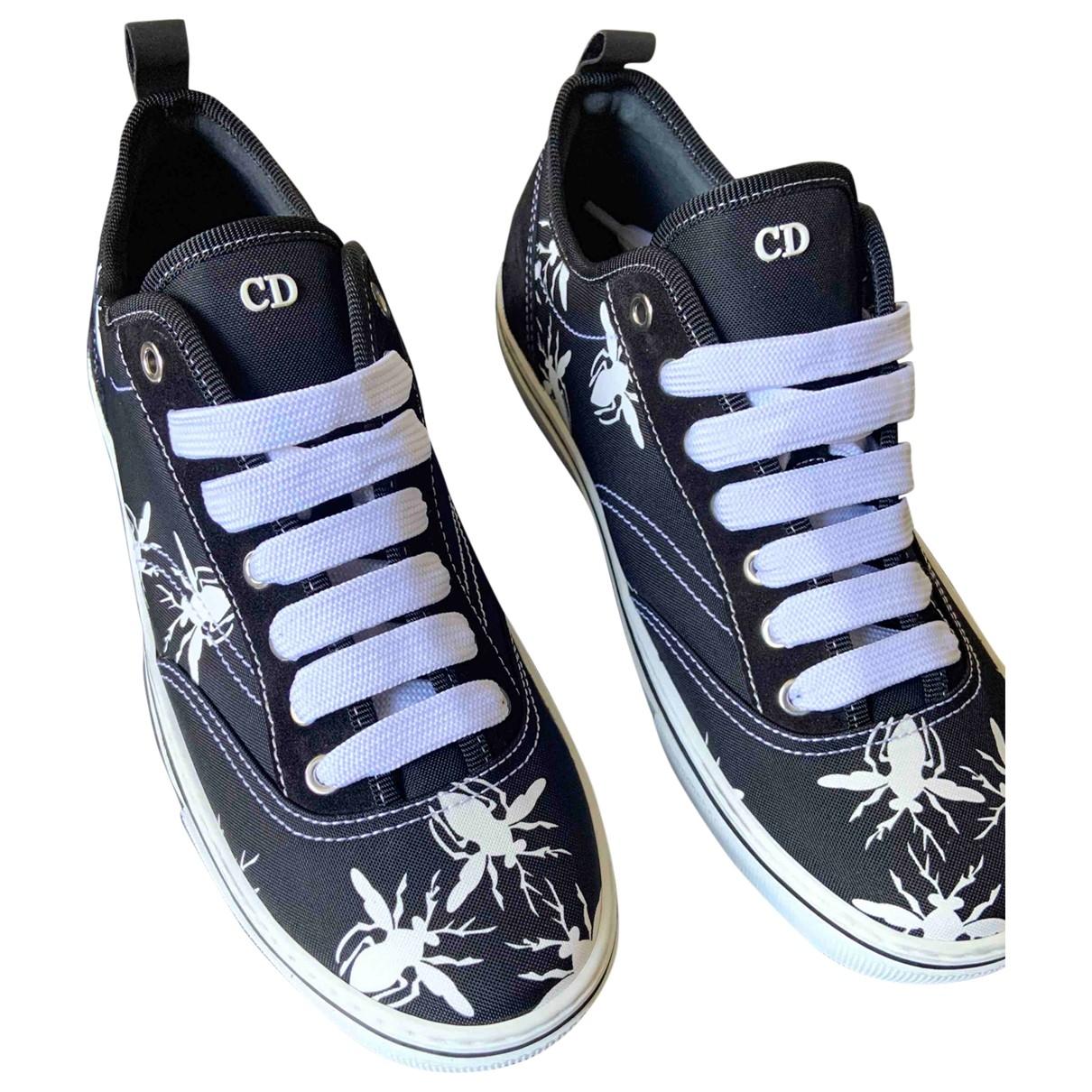 Dior Homme \N Sneakers in  Marine Leinen