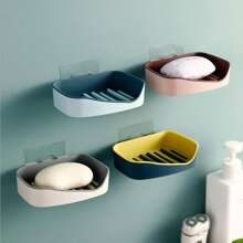 1pc Wall Mounted Soap Holder