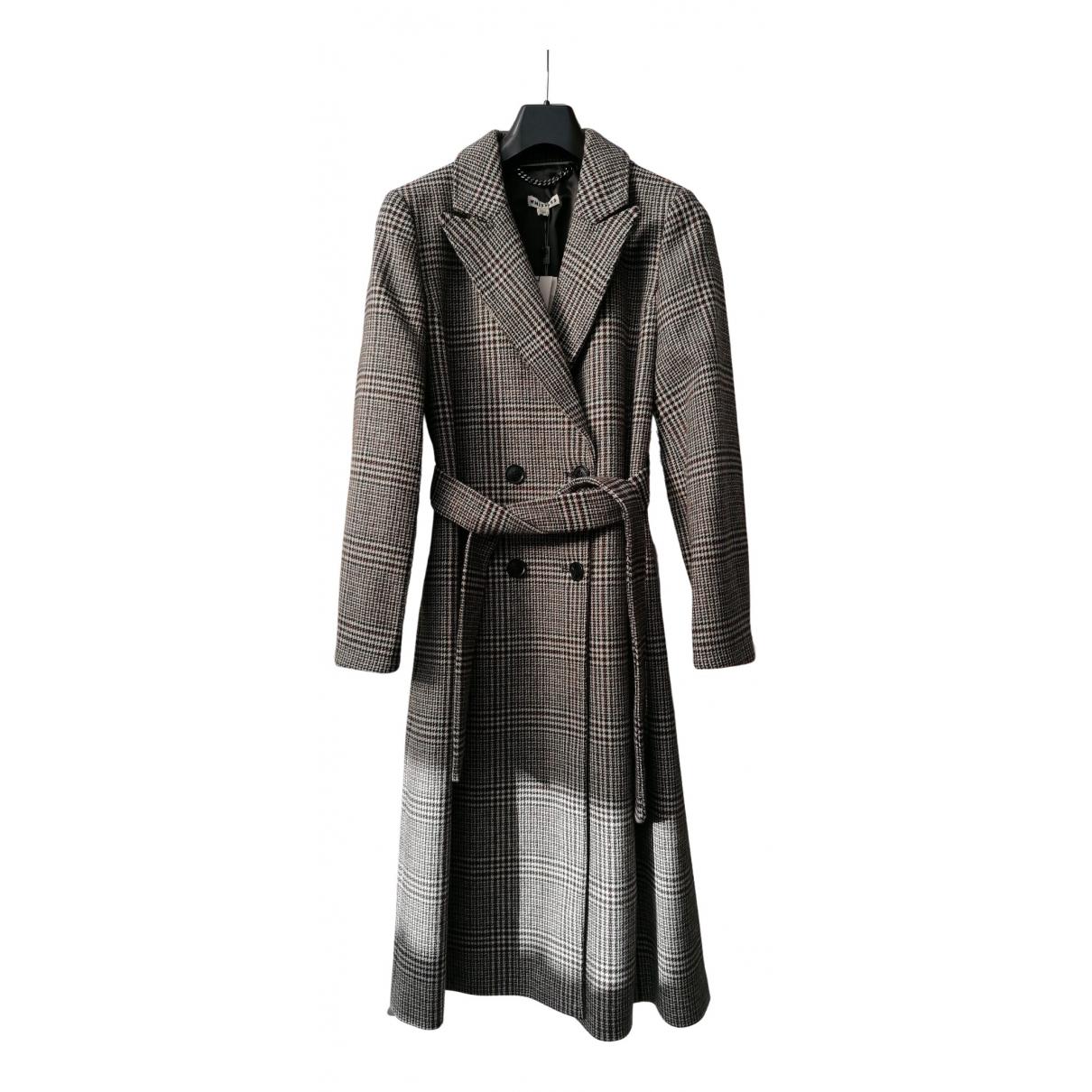 Whistles N Multicolour Wool coat for Women 14 UK