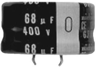 Nichicon 82μF Electrolytic Capacitor 400V dc, Through Hole - LGJ2G820MELC15