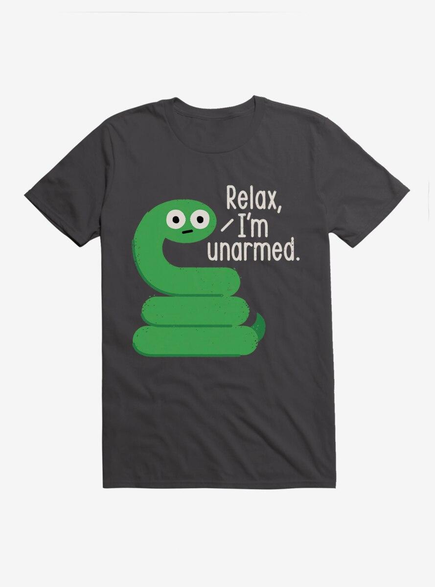 David Olenick Relax I'm Unarmed T-Shirt