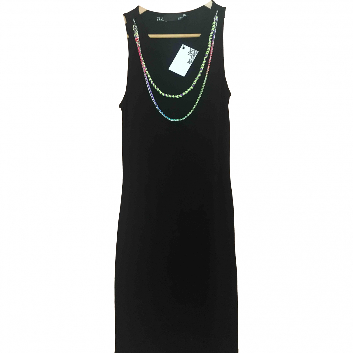 Moschino Love \N Black dress for Women 42 IT