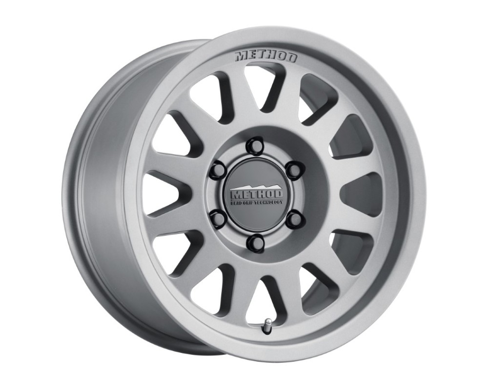 Method MR704 Wheel 17x8.5 5x5 0mm Matte Titanium