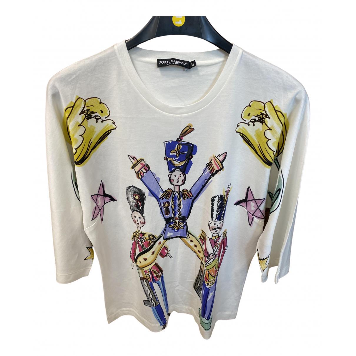 Dolce & Gabbana \N Multicolour Cotton  top for Women 40 IT