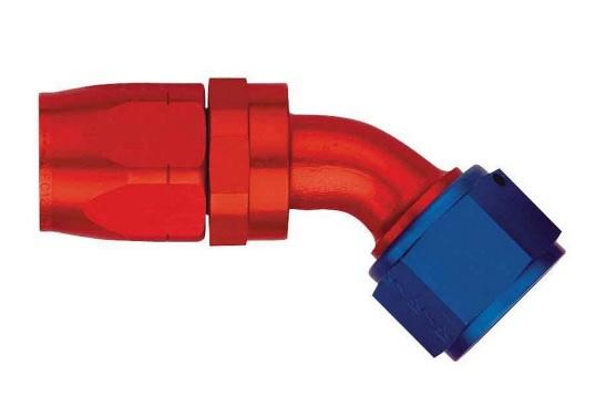 Aeroquip FCM4022 Universal #6 45 Degree Hose End Swivel