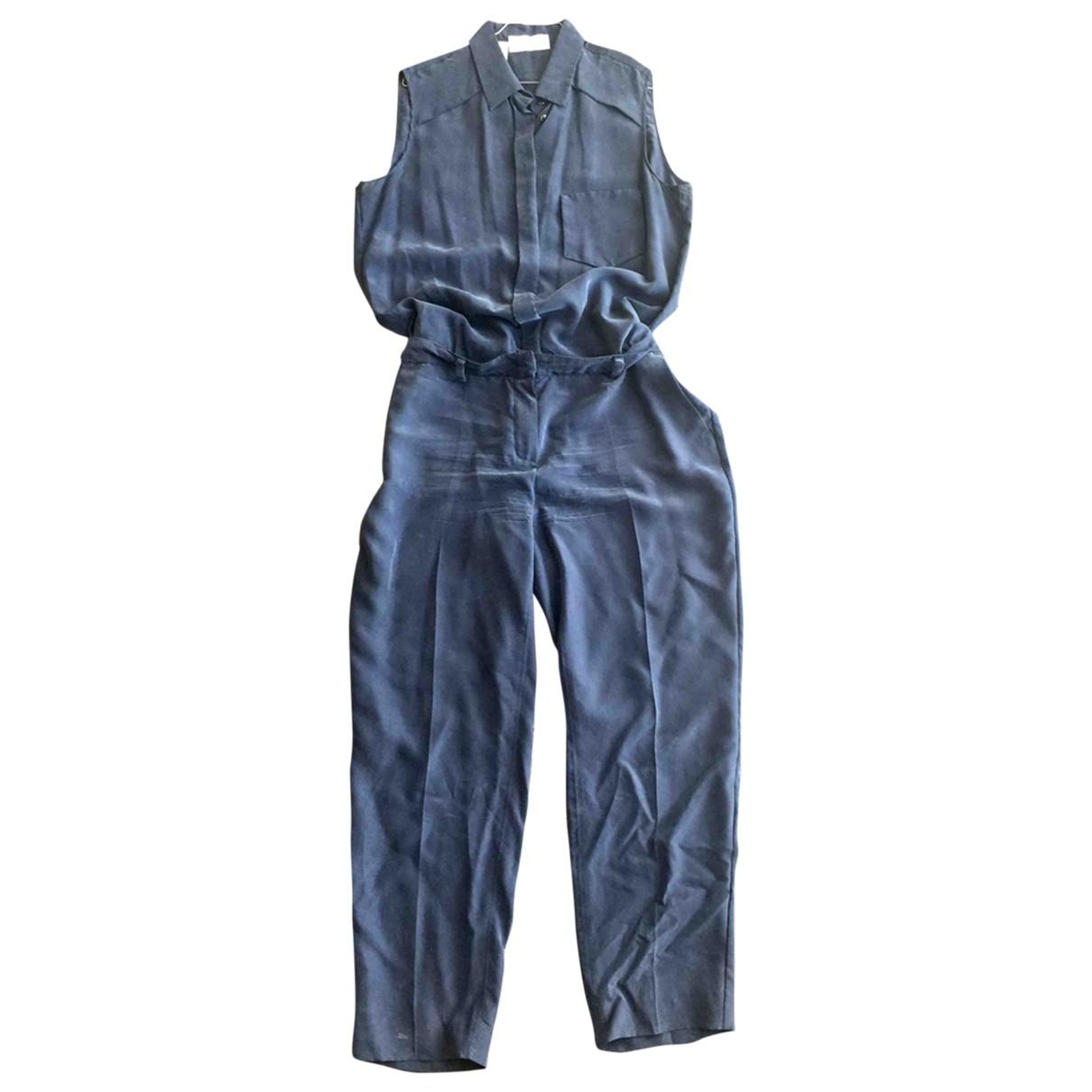 Intrend \N Blue Silk jumpsuit for Women 48 IT