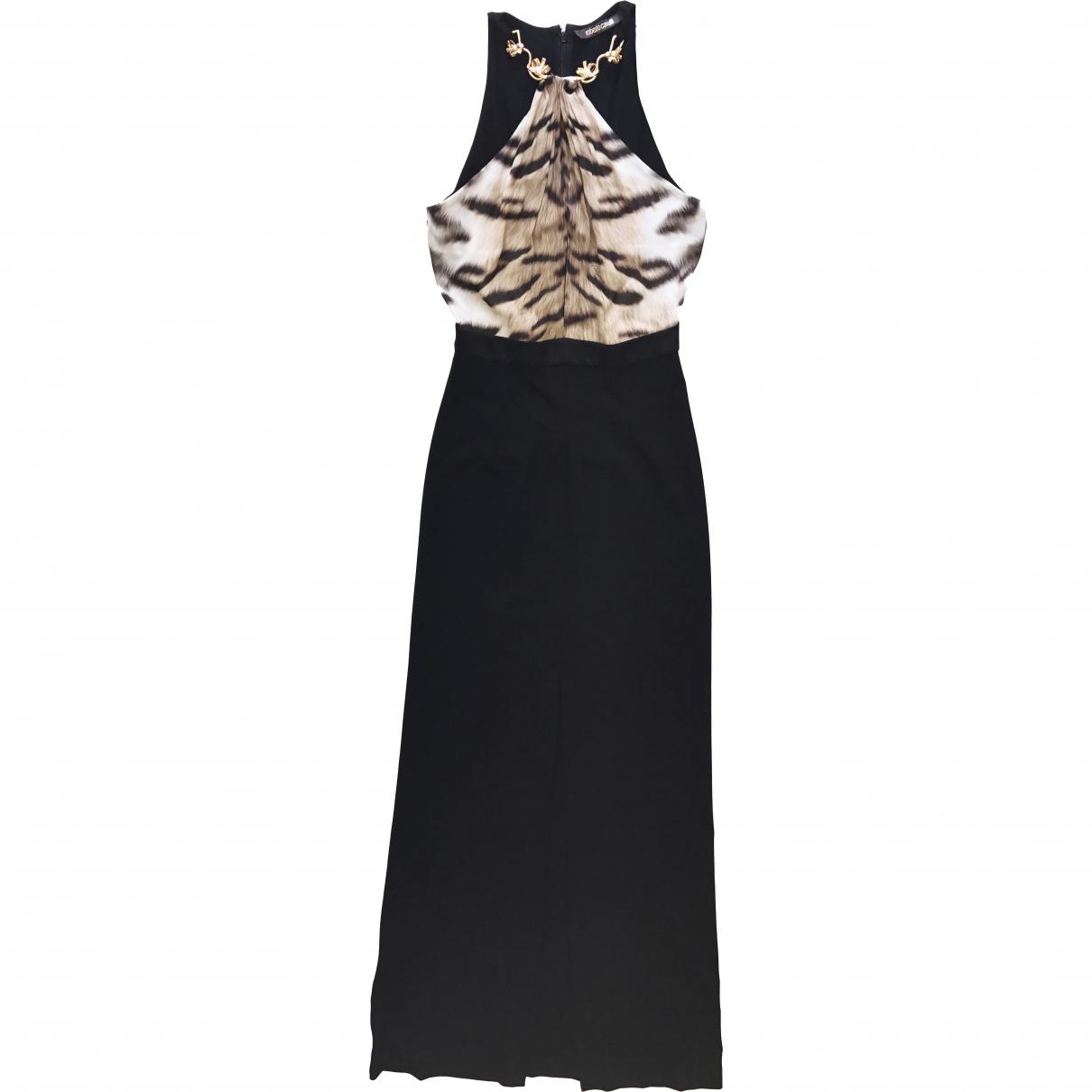 Maxi vestido de Seda Roberto Cavalli
