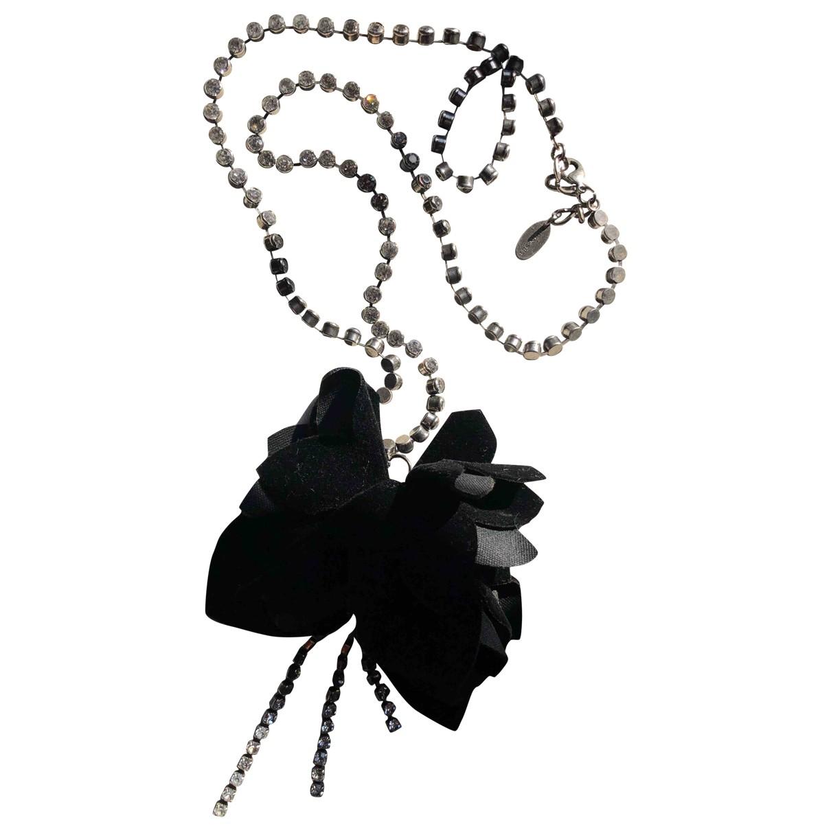 Twin Set N Black Metal necklace for Women N
