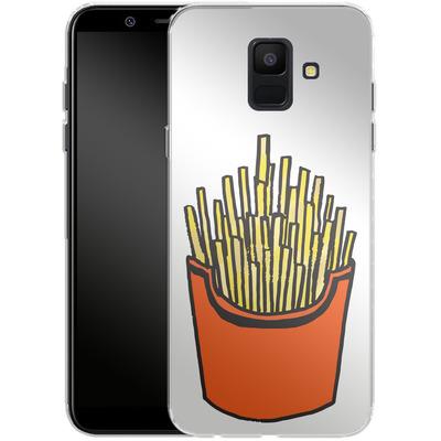 Samsung Galaxy A6 Silikon Handyhuelle - Fries von caseable Designs